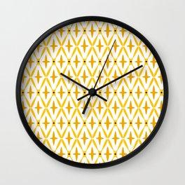 Golden Integretion Wall Clock