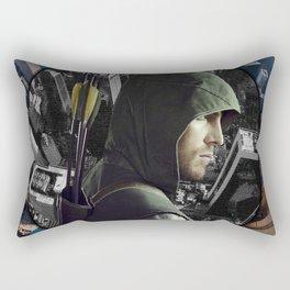 The Vigilante Rectangular Pillow