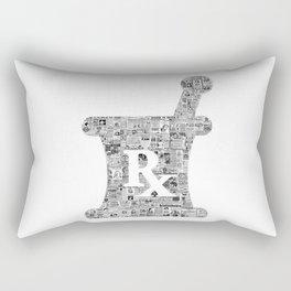 Panacea! Pharmacy, medical, vintage ads - great gift for a doctor, pharmacist, chemist Rectangular Pillow