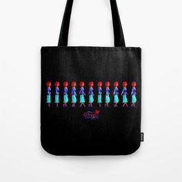 Nancy Maple Walk Cycle - The Crimson Diamond Tote Bag