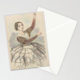 Montez Lola  Lola Montez as Mariquita in the ballet Un jour de carneval of SevilleAdditional Jour de carnaval a Seville Stationery Cards