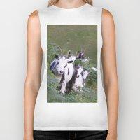 goat Biker Tanks featuring Goat by Jessie Prints Stuff