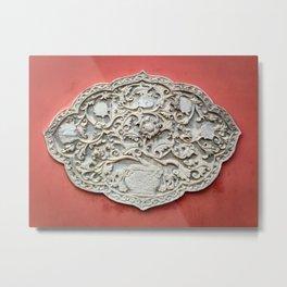 Temple Wall Art Metal Print