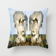 The Division Bell Throw Pillow