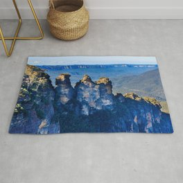 The Blue Mountains, New South Wales, Australia Rug