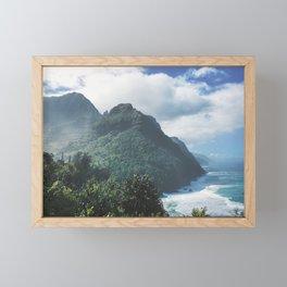 Na Pali Coast Kauai Hawaii Framed Mini Art Print