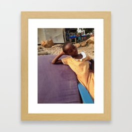 Cape Coast Beauty Framed Art Print