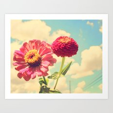 Lovely flower Art Print