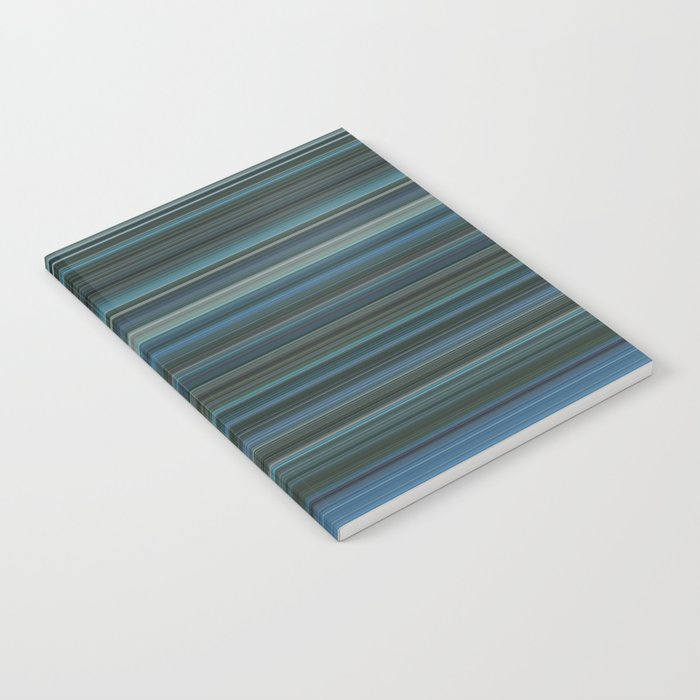 Blue lines 2 Notebook
