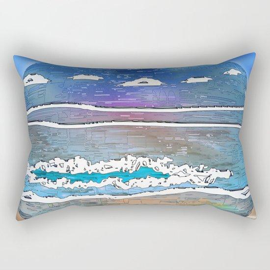Embrace the World - Archipelago 20-01-17 Rectangular Pillow