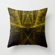 metrotheque unmixed Throw Pillow