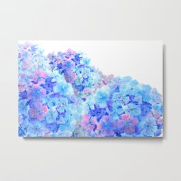 mountain of hydrangea Metal Print