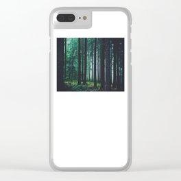 Through the fog Clear iPhone Case