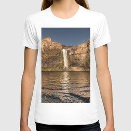 Desert Waterfall - Summer In Palouse T-shirt