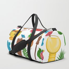 Totally Tiki Duffle Bag