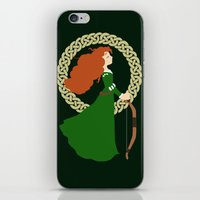 merida iPhone & iPod Skins featuring Merida  by Cantabile