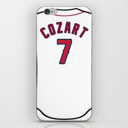 Zack Cozart Jersey iPhone Skin