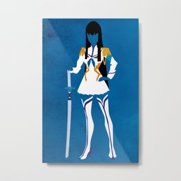 Satsuki Kiryuin Metal Print