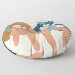 In Love I Floor Pillow