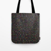led zeppelin Tote Bags featuring LED by Simon C Page