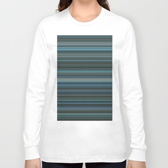 Blue lines 2 Long Sleeve T-shirt