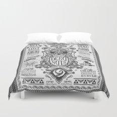 Legend of Zelda inspired Deku Nuts Vintage Advertisement Duvet Cover