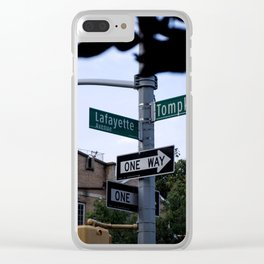 Bed Sti Do Or Die Clear iPhone Case