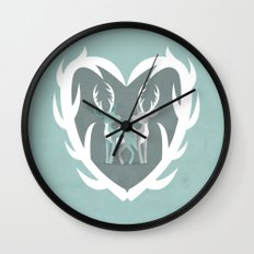 I Love You Deerly Wall Clock
