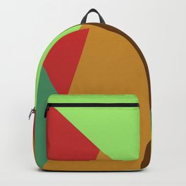 Polygonal Graphic Pattern  Backpack
