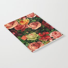 Vintage & Shabby chic - floral roses flowers rose Notebook
