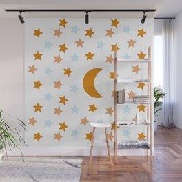 stars pattern 5 Wall Mural