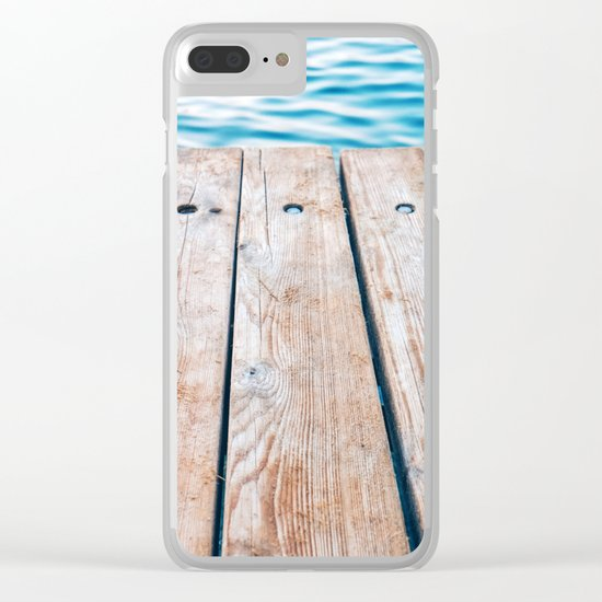 Dock of the Bay Clear iPhone Case