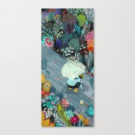 Rainworms Canvas Print