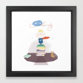 Supercharly! Framed Art Print