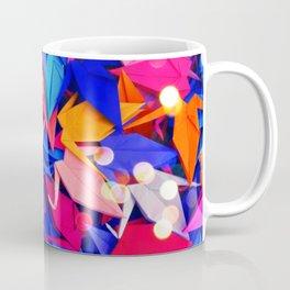 Senbazuru | pink and blues Coffee Mug