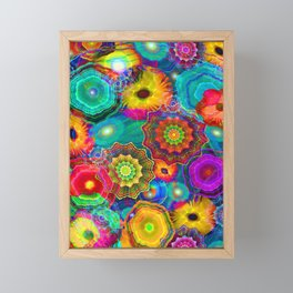 Flowery Meadow Framed Mini Art Print