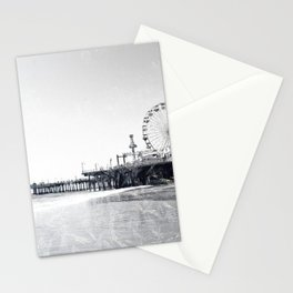 Frosted Santa Monica Pier Stationery Cards