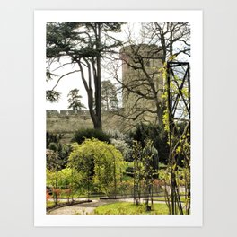 Castles are Green, Warwick, England 2006 Art Print