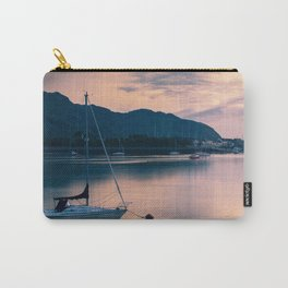 A boat on the river Carry-All Pouch