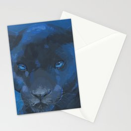 black panther Stationery Cards