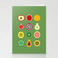 vector Stationery Cards featuring Banca de Frutas by Marcelo Romero