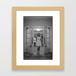 Let Me In Framed Art Print