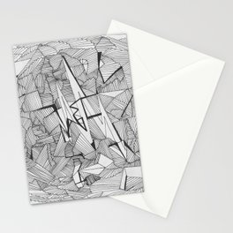 Adult Coloringbook Template 2 Stationery Cards