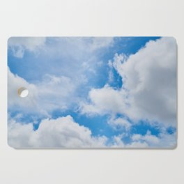 Partly Cloudy Cutting Board