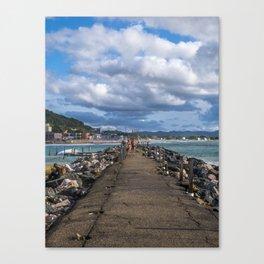 Aguadilla coast 5 Canvas Print