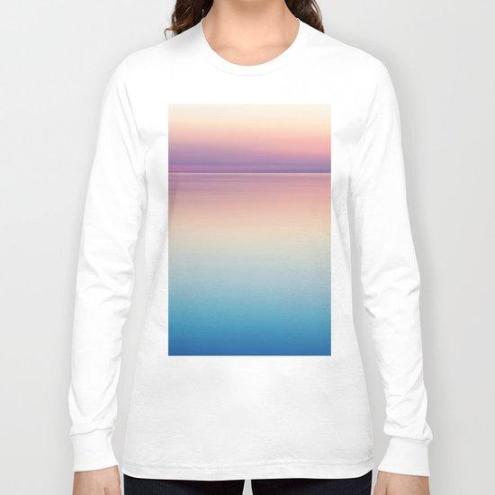 Color Layers Sunrise Sea Long Sleeve T-shirt