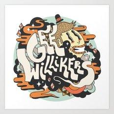 Gee Willikers! Art Print
