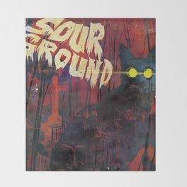 Sour Ground - Pet Sematary Tribute Throw Blanket