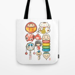 Special Lucky Toy Box Tote Bag