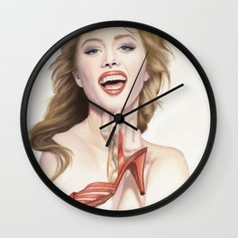 italian fashion 80s Wall Clock